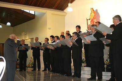 «DÍA DE LA MÚSICA» CORO » INCHALAM» EN PARROQUIA » SANTA CECILIA»