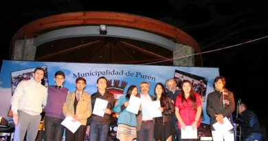 GINA ASTETE Y CAMILA CONTRERAS REPRESENTARÁN A PURÉN EN FESTIVAL DE LA FRUTILLA