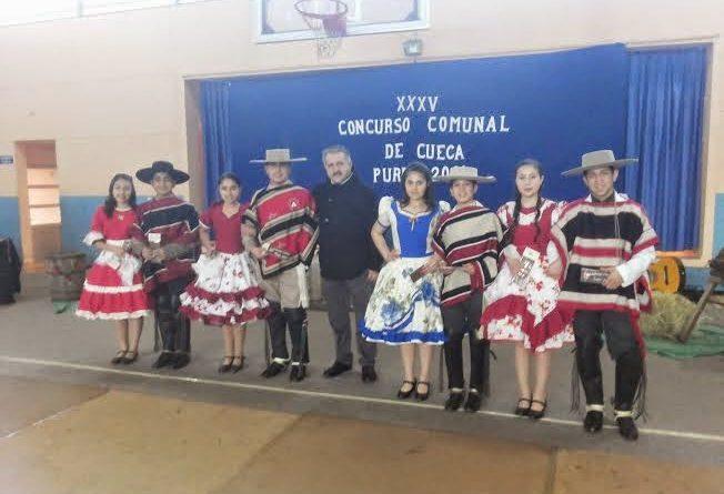 GANADORES CUECA ESCOLAR PUREN 2014