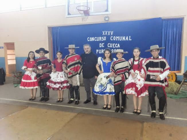 SE REALIZÓ C COMUNAL DE CUECA 2014