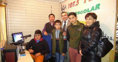 """FM 107.5 RADIO ESCOLAR EN ESC. """"PELLAHUECO"""" PURÉN"""