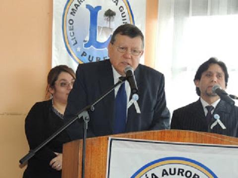LICEO»M.A. GUÍÑEZ R.», CUMPLIÓ 45 AÑOS
