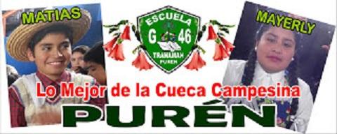 PURÉN CLASIFICÓ PARA LOS TRES C.REGIONALES DE CUECA ESCOLAR