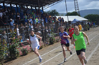 "Gráficas atletismo 48°J.INF"" NAHUELBUTA"" Purén 2015"