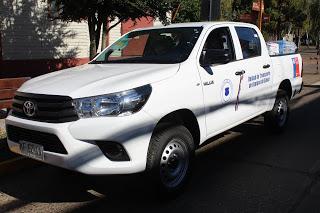 VEHÍCULO PARA DEL DEPARTAMENTO DE SALUD MUNICIPAL DE PURÉN