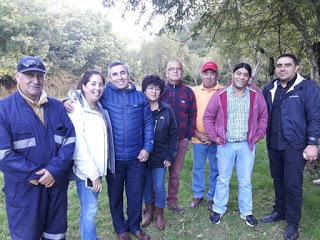 ALCALDE RIVERA  CON VECINOS DE «IPINCO ALTO»