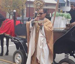 PROCESIÓN CORPUS CRISTI EN PURÉN