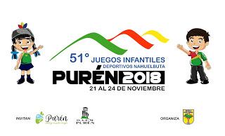 """LANZAMIENTO OFICIAL IMAGEN CORPORATIVA DE LOS """"51°JUEGOS INFANTILES DEPORTIVOS NAHUELBUTA"""""""