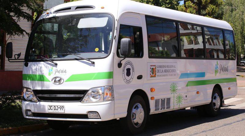 minibus escuela especial puren