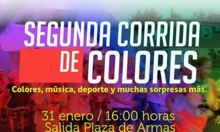 31 de enero : 2da. CORRIDA DE COLORES PURÉN 2020