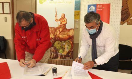JUNJI Y MUNICIPALIDAD FIRMAN RECONOCIMIENTO OFICIAL DE DOS JARDINES PURENINOS